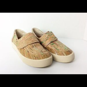 Toms Altair Multi Color Cork Sneakers. Size  W6